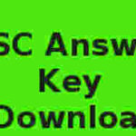 PSC Secretariat Assistant Exam Answer Key 13-10-2018