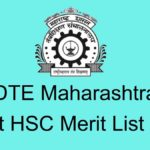 Maharashtra Diploma Post HSC Merit List 2020