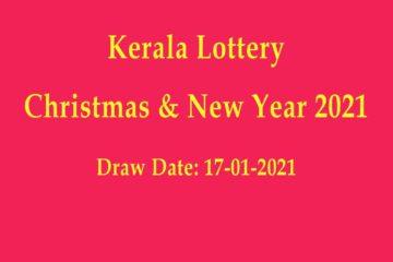 Kerala Bumper lottery result