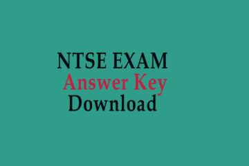 NTSE Exam answer Key Download
