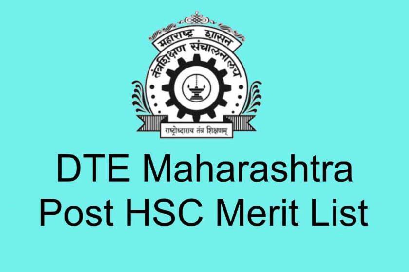 DTE Maharashtra Post HSC Merit List - Check Allotment List