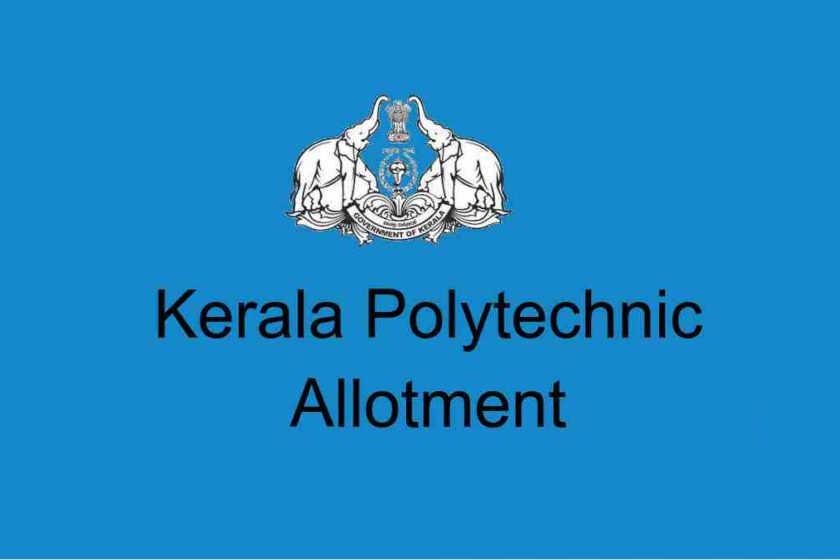 Polytechnic Final Rank List / Poly First allotment
