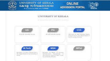 Kerala University PG Allotment