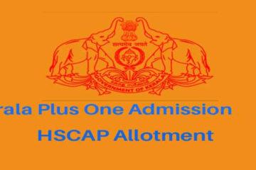 Plus One Second Allotment - HSCAP Result